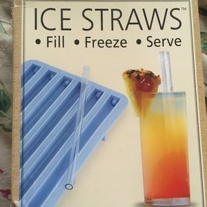 Freeze straws